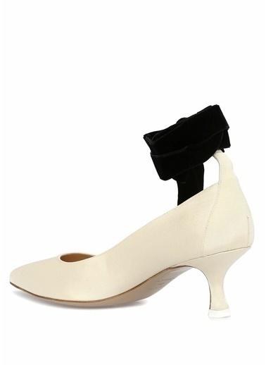 Attico İnce Topuklu Ayakkabı Bej